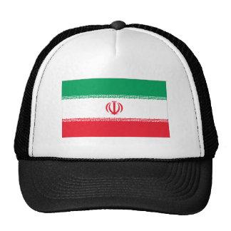 Bandera iraní gorro de camionero
