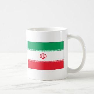 Bandera iraní taza de café