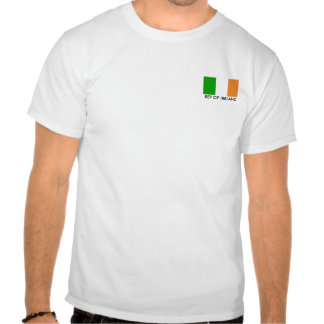 Bandera Irlanda, representante de IRLANDA Camisetas