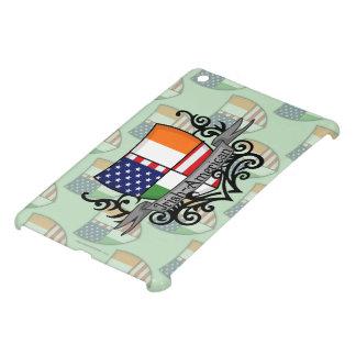 Bandera Irlandés-Americana del escudo