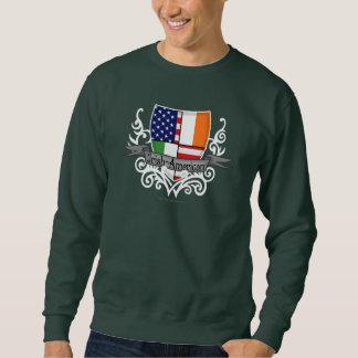 Bandera Irlandés-Americana del escudo Jersey