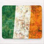 Bandera irlandesa alfombrilla de ratones