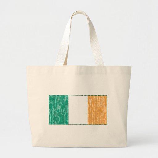 Bandera irlandesa apenada bolsas de mano