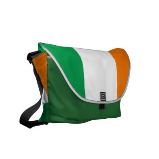 Bandera irlandesa bolsa messenger