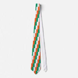 Bandera irlandesa corbata personalizada