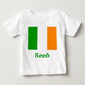 Bandera irlandesa de lámina playera de bebé
