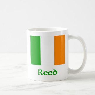 Bandera irlandesa de lámina taza de café