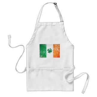 Bandera irlandesa delantal