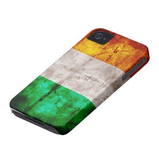 Bandera irlandesa iPhone 4 Case-Mate cobertura