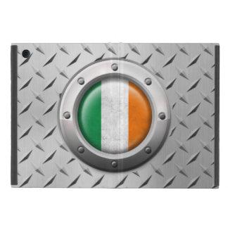 Bandera irlandesa industrial con el gráfico de ace iPad mini cárcasas