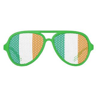 Bandera irlandesa lentes de sol