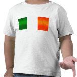 Bandera irlandesa pelada moderna camiseta