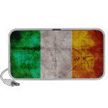 Bandera irlandesa portátil altavoces