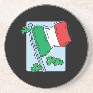 Bandera irlandesa posavasos diseño