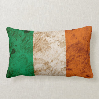 Bandera irlandesa rugosa cojin