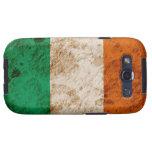 Bandera irlandesa rugosa galaxy s3 funda