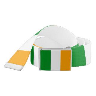 Bandera irlandesa tricolora de Irlanda