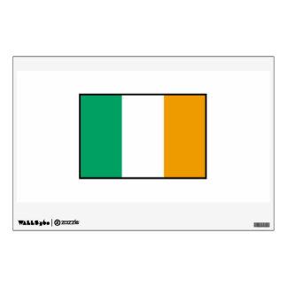Bandera irlandesa vinilo