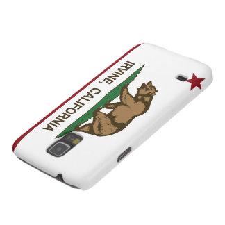 Bandera Irvine del estado de Californi Carcasa De Galaxy S5