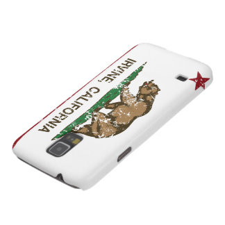 Bandera Irvine del estado de Californi Funda Para Galaxy S5