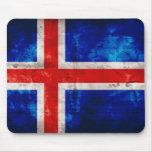 Bandera islandesa alfombrilla de ratones