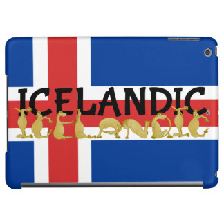 Bandera islandesa del caballo