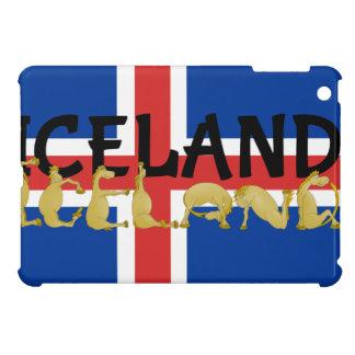 Bandera islandesa del caballo el | de Islandia