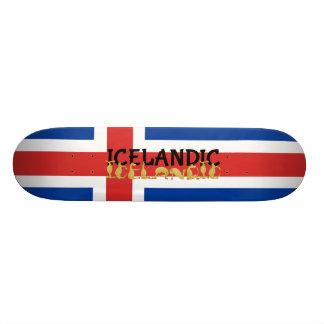 Bandera islandesa del caballo el | de Islandia Patines Personalizados