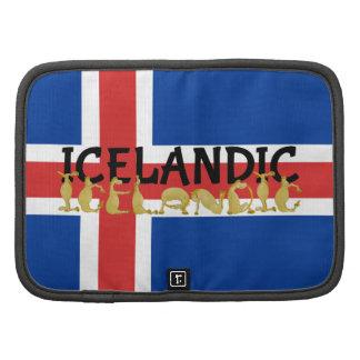 Bandera islandesa del caballo el | de Islandia Organizadores