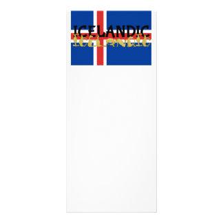 Bandera islandesa del caballo el | de Islandia Plantillas De Lonas