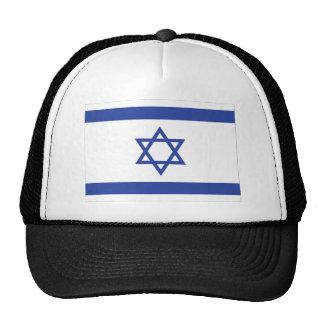 bandera israelí gorro de camionero