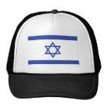 bandera israelí gorros