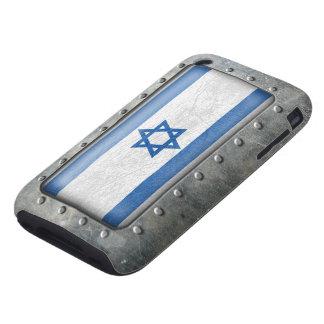 Bandera israelí industrial funda though para iPhone 3