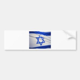 Bandera israelí pegatina para auto