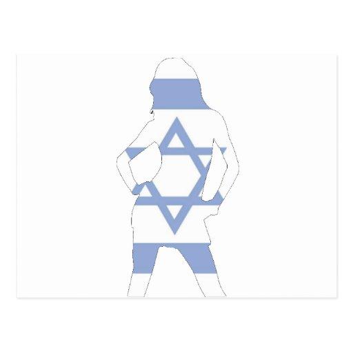 bandera israelí postal