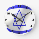 Bandera israelí reloj