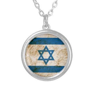 Bandera israelí rugosa grimpolas
