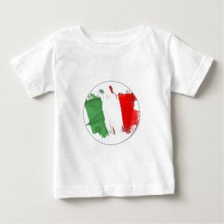 Bandera italiana de la moda playeras