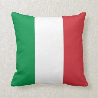 Bandera italiana en la almohada de MoJo del