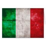 Bandera italiana felicitación