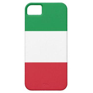 Bandera italiana iPhone 5 funda