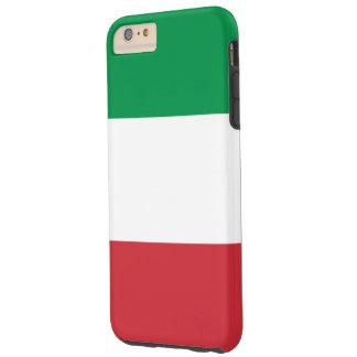 Bandera italiana funda para iPhone 6 plus tough