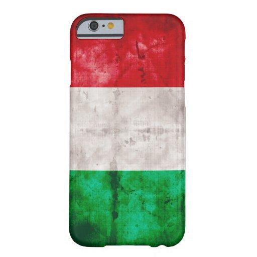 Bandera italiana funda de iPhone 6 barely there