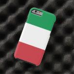 Bandera italiana funda para iPhone 6 tough
