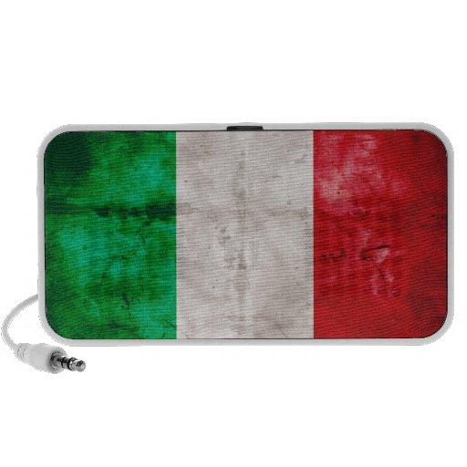 Bandera italiana mini altavoz