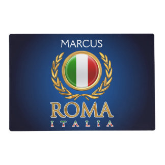 Bandera italiana modificada para requisitos tapete individual