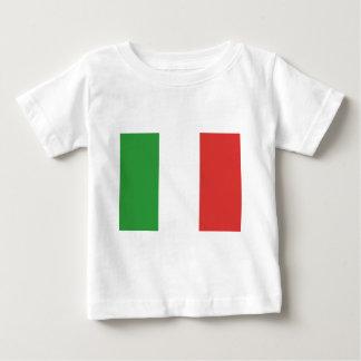 Bandera italiana remera
