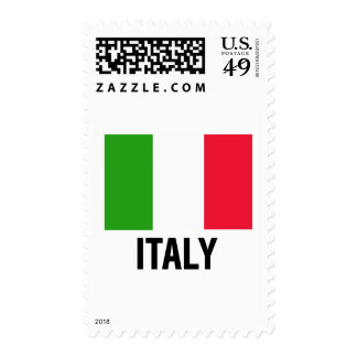Bandera italiana franqueo