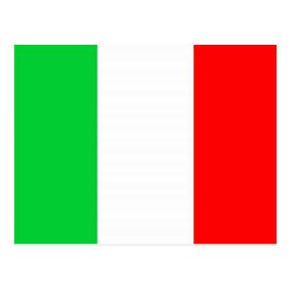 Bandera italiana tarjetas postales