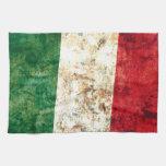 Bandera italiana toalla